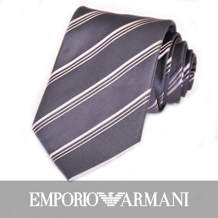 エンポリオアルマーニ ネクタイ EMPORIO ARMANI 8A401 21744 グレー