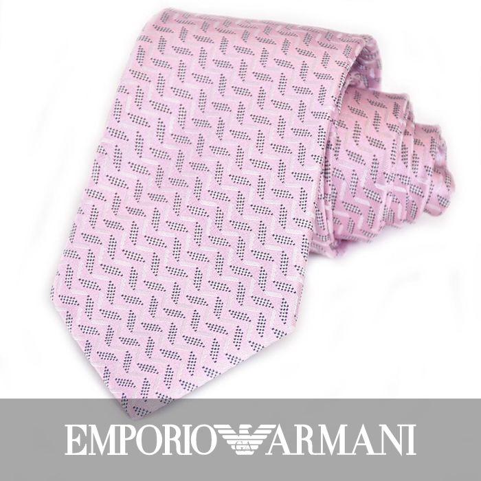 エンポリオアルマーニ ネクタイ EMPORIO ARMANI 8A319 00070 ピンク