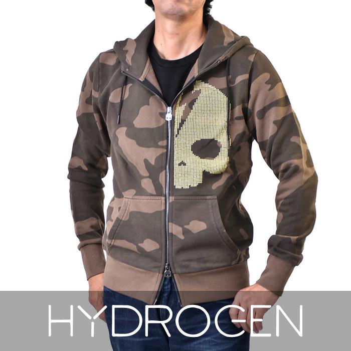 ハイドロゲン スカルスタッズ ジップアップ パーカー HYDROGEN 230116 060