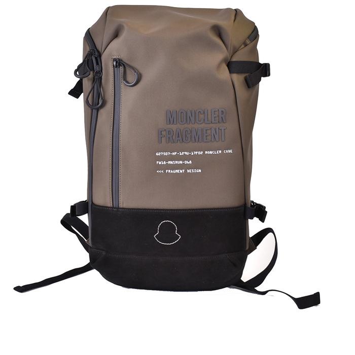 MONCLER リュックバッグパック ※アウトレット品 プレゼント ギフト モンクレール 0060000 01A2R 833 カーキ ファッション通販 ジーニアス