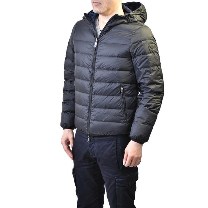 エンポリオアルマーニ リバーシブルダウンジャケット EMPORIO ARMANI 8N1B51 1NJMZ 0999 ブラック