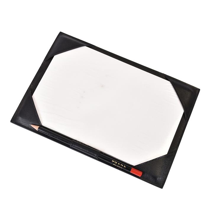 激レア プラダ PRADA メモパッド OGGETTI DA SCRIVANIA デスクトップオブジェクト 2AR384 【店舗移転在庫処分】 メンズ レディース