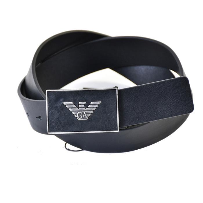 エンポリオアルマーニ ベルト EMPORIO ARMANI Y4S196 YDC0G 80001 ブラック メンズ ギフト プレゼント 仕事 フォーマル ビジネス 入学祝い 就職祝い