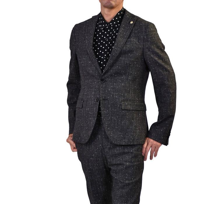 マニュエルリッツ シングルスーツ MANUEL RITZ 2531A3069S 99 グレー メンズ ギフト プレゼント