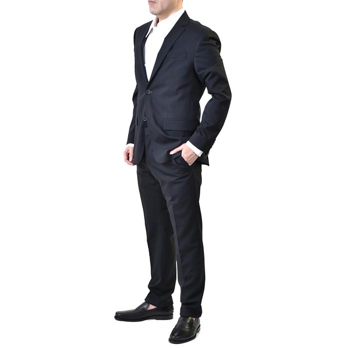 カルバンクライン シングルスーツ CALVIN KLEIN K10K 103080 103082 013 ブラック メンズ【FINAL SALE】