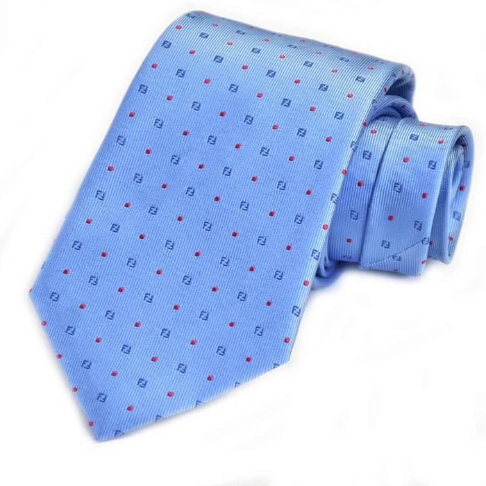 フェンディ ネクタイ FENDI A6PK F0TY2 ブルー メンズ ギフト プレゼント 仕事 フォーマル ビジネス 入学祝い 就職祝い