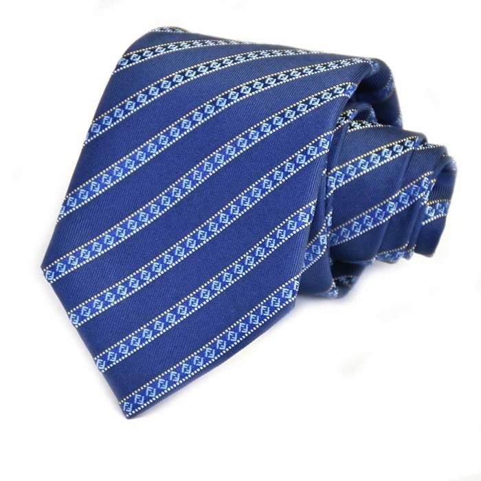 フェンディ ネクタイ FENDI A76J F0EF2 ブルー メンズ ギフト プレゼント 仕事 フォーマル ビジネス 入学祝い 就職祝い