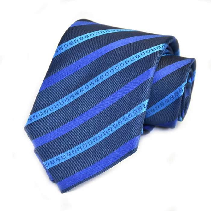フェンディ ネクタイ FENDI A76O F0EF2 ブルー メンズ ギフト プレゼント 仕事 フォーマル ビジネス 入学祝い 就職祝い