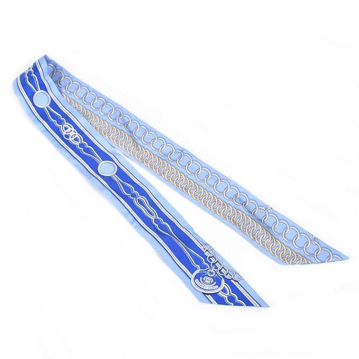 エルメス ツィリー HERMES H063357S 03 ブルー 母の日 プレゼント ギフト