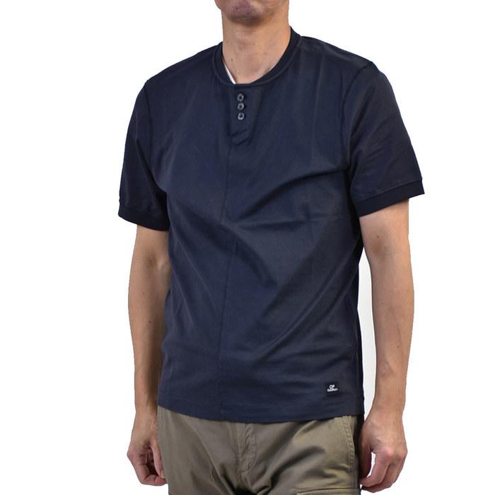 シーピーカンパニー マココットン Tシャツ C.P. Company 06CMTS090A MAKO COTTON ネイビー