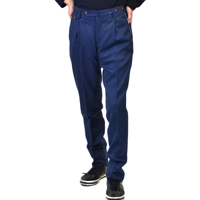 ピーティーゼロウーノ パンツ PT01 MAESTRO GENTLEMAN FIT GF11ZP0MA1 0360 ブルー ギフト プレゼント