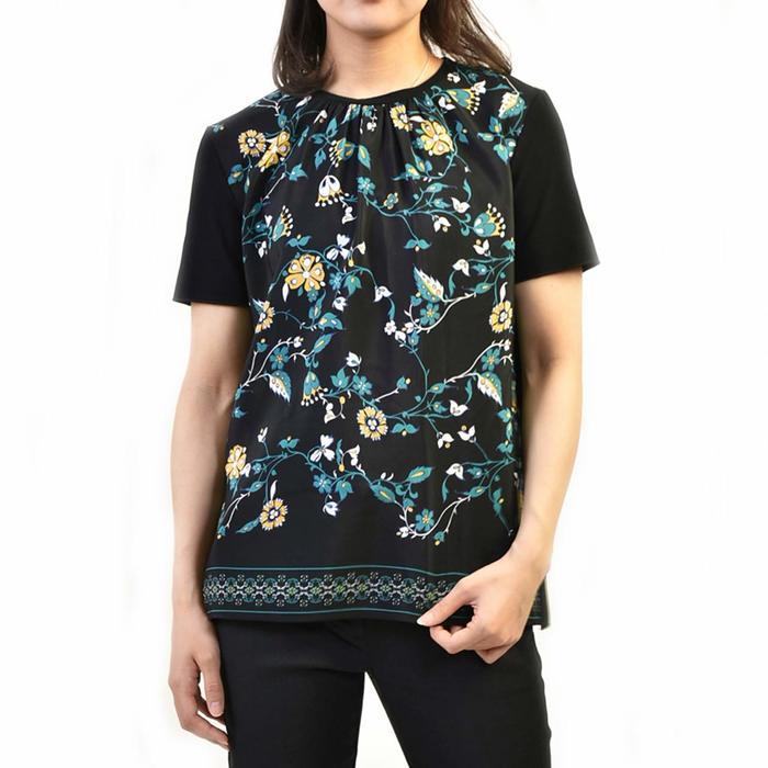 マックスマーラステュ-ディオ カットソー Tシャツ MAXMARA STUDIO FONDI 69410191 002 ブラック