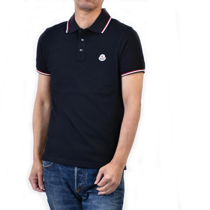 モンクレール ポロシャツ MONCLER 8345600 84556 773 ネイビー カジュアル インナー ゴルフ