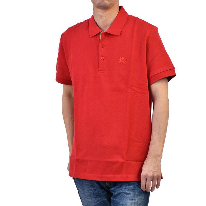 バーバリー ポロシャツ BURBERRY 8003122 レッド カジュアル ゴルフ