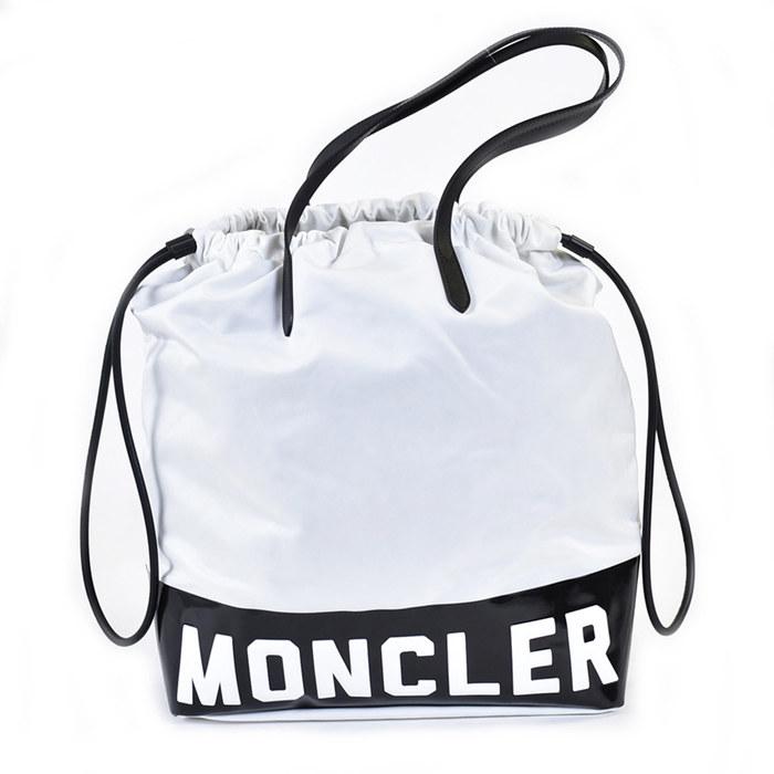 モンクレール FLAMENNE ショッピングバッグ MONCLER 30162/0001AL3034 34 ホワイト ギフト プレゼント