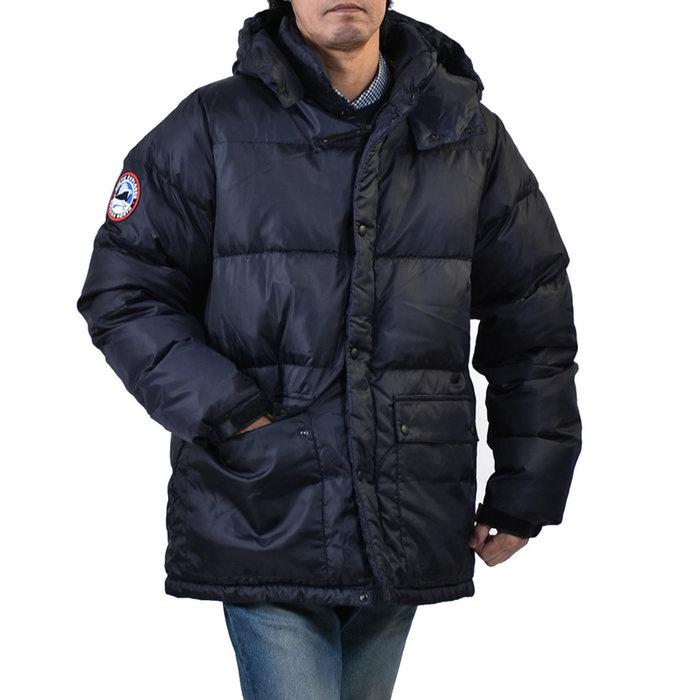 アークティックエクスプローラーフード付き ダウンジャケット ARCTIC EXPLORER FANAT ネイビー メンズ ギフト プレゼント