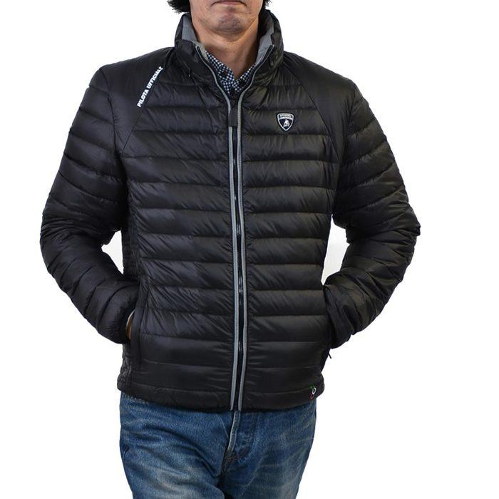 ランボルギーニ ライトダウンジャケット LAMBORGHINI E5XUB9P1 899 ブラック メンズ ギフト プレゼント