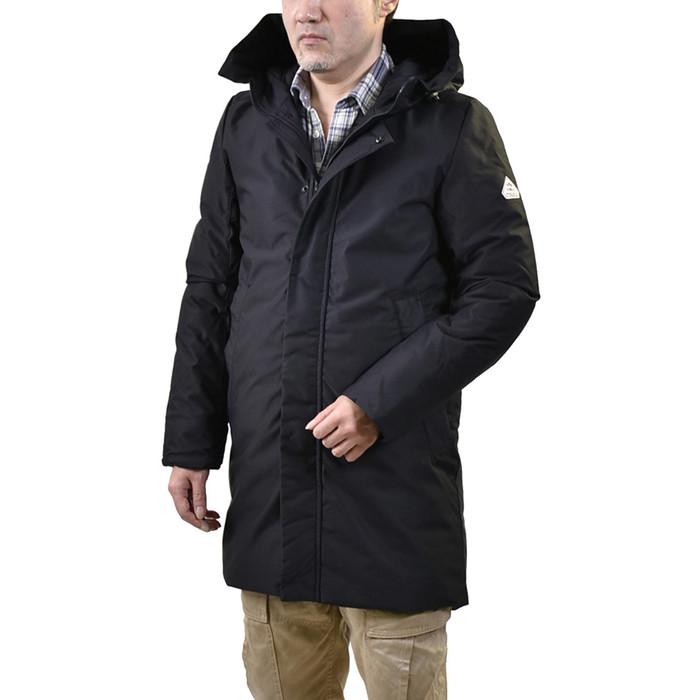 ピレネックス ダウンコート PYRENEX HMM009 TRAVIS COAT ブラック メンズ ギフト プレゼント ラスト1点