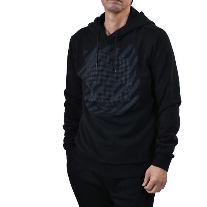 ハイドロゲン スタッズ スカル プルオーバーパーカー HYDROGEN 260100 STUDS SKULL HOODIE 007 ブラック 大きいサイズ メンズ ラスト1点【FINAL SALE】