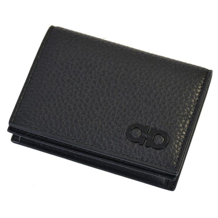 フェラガモ 名刺入れ カードケース FERRAGAMO 66A0800685881 BUSINESS CARDHOLDER 006NE ブラック メンズ