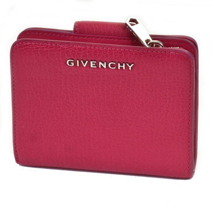 ジバンシー 折財布 GIVENCHY BC06242012 PANDORA - COMPACT ZIP WALLET 675