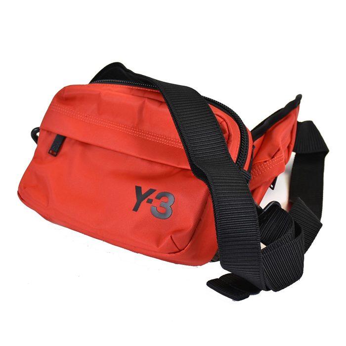 ワイスリー 3WAY ナイロン ショルダーバッグ Y-3 FT9870 SLING BAG RED レッド メンズ