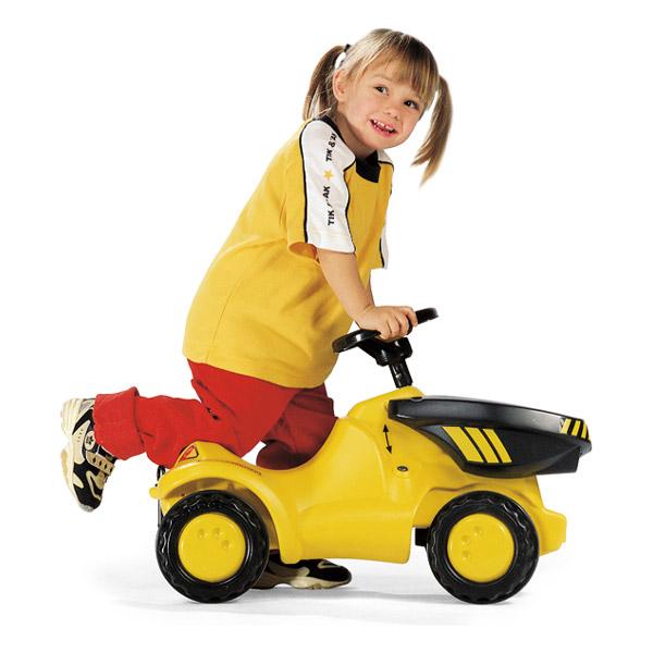 Rolly Toys ロリートイズ ROLLY MINI ダンパーミニ~ドイツ・Rolly Toysの足けりタイプの働く車の乗用玩具です。1歳からお楽しみいただけます。【ラッピング不可】