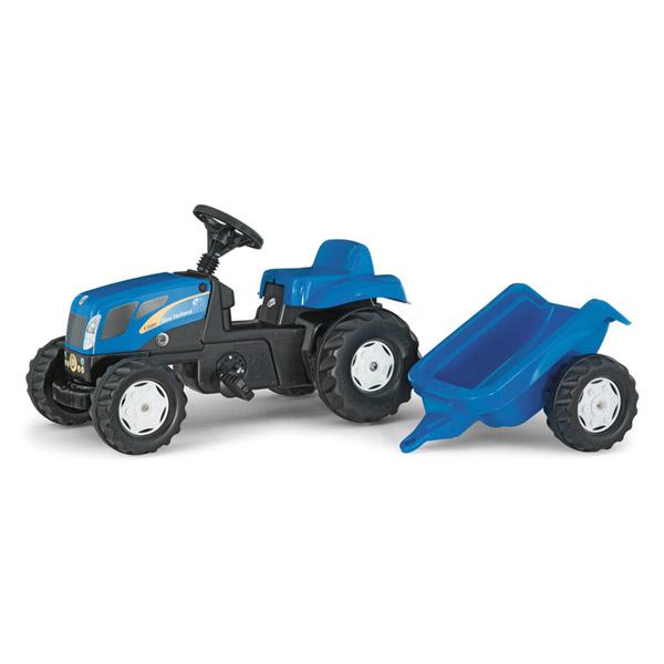 Rolly Toys ロリートイズ ROLLY KIDS ニューホーランドキッズ~ドイツ・Rolly Toysのトレーラー付きのペダル式の働く車の乗用玩具です。2歳半からおたのしみいただけます。【ラッピング不可】