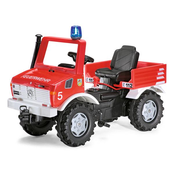 Rolly Toys ロリートイズ ROLLY FARM TRUCK メルセデスウニモグ~ドイツ・Rolly Toysのペダル式の消防車の乗用玩具です。3歳からお楽しみいただけます。【ラッピング不可】