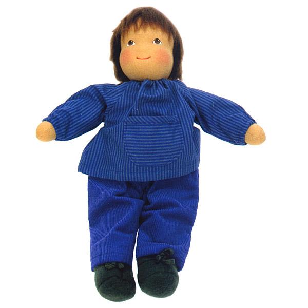 Heidi Hilscher ハイデ ヒルシャー Matthias マチアース~ドイツの小さな街ウルムに工房をかまえるハイデ ヒルシャーの手作りのお人形です。自然素材で作られています。