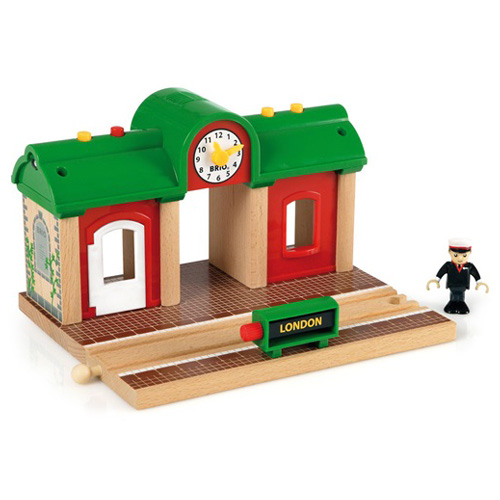 It Is The Additional Accessory Of The Railway Of Brio ブリオレールウェイ Addition Accessories Record Play Station Brio Three Pieces