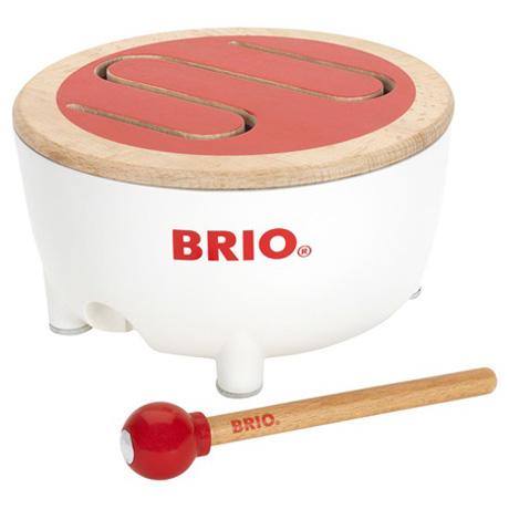 30181 赤ちゃん 木製玩具 木のおもちゃ 子供用 子ども用楽器 まとめ買い特価 楽器玩具 ドラム ブリオ 太鼓 BRIO たいこ はじめての楽器にオススメのキッズドラムです 公式サイト BRIOドラム~BRIOの赤ちゃんの木のおもちゃシリーズ