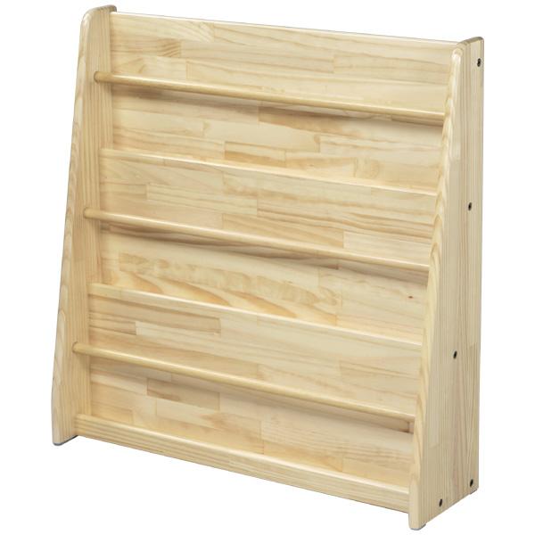 ブロック社 絵本立て<壁面型>~幼稚園・保育園にオススメなブロック社の木製子供用家具。表紙を見せて絵本を収納できる木製本立てです。