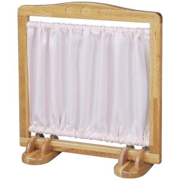 ブロック社 ついたて<一面>スタンドセット~幼稚園・保育園にオススメなブロック社の木製子供用家具。室内環境に必要な仕切りとして便利なパーテーションです。【布は別売り】