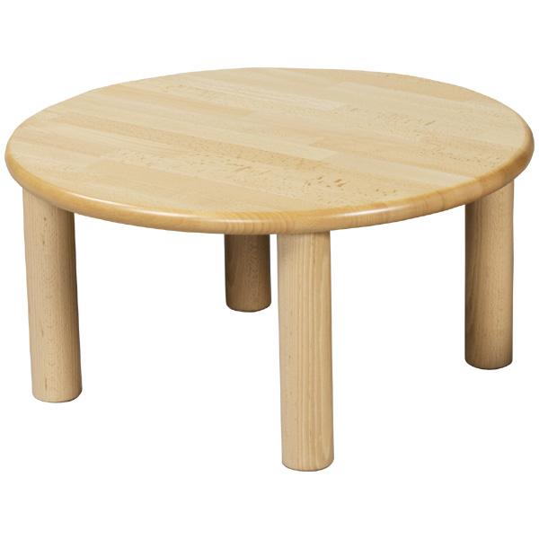 ブロック社 丸テーブル 60<H51>~幼稚園・保育園にオススメなブロック社の木製子供用家具。耐久性が優れたテーブルです。【5歳児用】