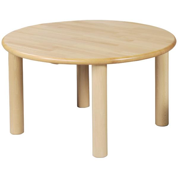 ブロック社 丸テーブル 75<H51>~幼稚園・保育園にオススメなブロック社の木製子供用家具。耐久性が優れたテーブルです。【5歳児用】