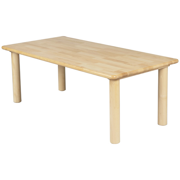 Eurobus: Blocku0027s Corner Table 120 X 60 Round Leg U0026lt;H33u0026gt; Kindergarten,  Nursery Block House Perfect For Wooden Childrenu0027s Furniture.
