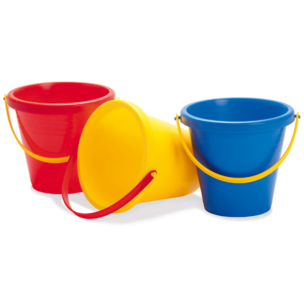 [BorneLund bornelund] Dunton SuperTAF bucket (blue / red / yellow)-light weight and durable bucket perfect for Nordic Denmark-Dunton's sandbox play. Is the buckets have excellent durability and safety in special plastic.