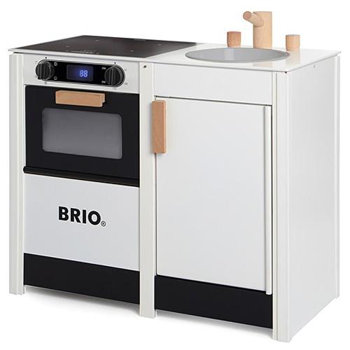 BRIO ブリオ キッチンストーブ&シンク~BRIOのおままごとキッチンシリーズ。人気のレンジとシンクが一体化しました。