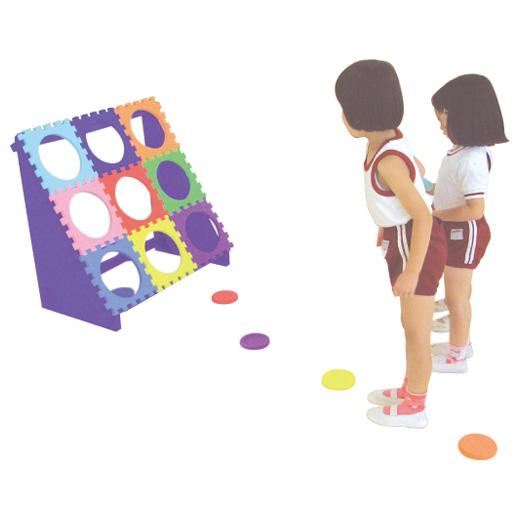 一歩社 はじめしゃ どこでもミニディスク~一歩社(はじめしゃ)のイベントやレクリエーションで利用できるおもちゃ・遊具。ソフトで安全性の高いEVAスポンジ製のミニディスクです。