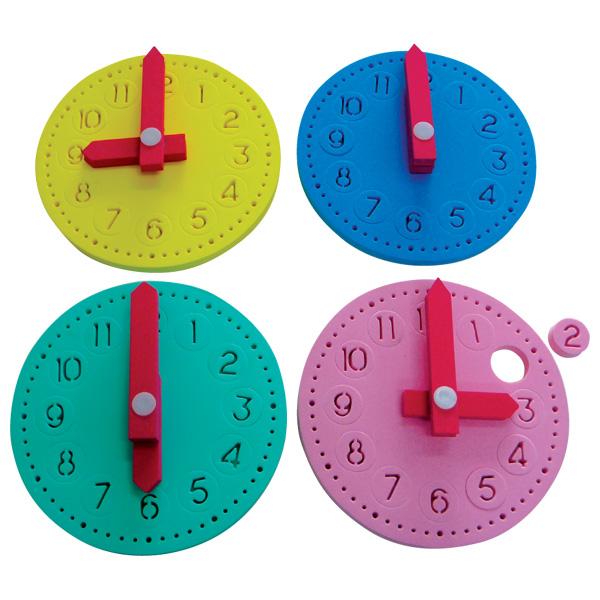 代引手数料 送料無料 130 幼稚園 保育園 おもちゃ 施設向け 児童館 プレイルーム 時間あそび~一歩社 遊具 完売 一歩社 はじめしゃ 知育玩具 のソフトなEVAスポンジ製のお勉強のおもちゃ 安全性の高いEVAスポンジ製の時計のおもちゃです 発売モデル キッズルーム