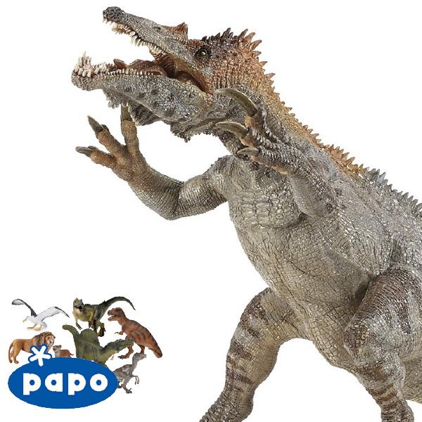 PAPO パポ社 バリオニクス フランス、PAPO(パポ社)のDinosaurs ダイナソーシリーズ、恐竜のフィギュア。リアルな表情が魅力のフィギュアです。