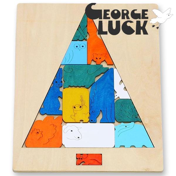 怎么打George Luck乔治框木制魔术谜的树~George Luck(乔治·框)木制谜。比13岁做推荐的小量的难,是眼睛的魔术谜。