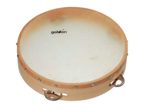 一番人気物 Goldon ゴールドン社 タンバリン Goldon タンバリン L~ドイツの子供用楽器メーカーGoldon(ゴールドン)の打面に本革を使用した本格的なタンバリン。, 野辺地町:01ecbcda --- clftranspo.dominiotemporario.com