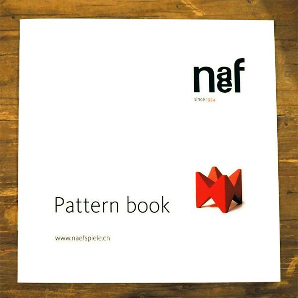 メール便可 K15-2 まとめ買い特価 積み木 積木 つみき カタログ 積み木の造形例が掲載れているパターンブックです Naef 付与 パターンブック~スイス ネフ社 のカタログ