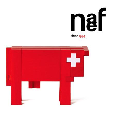 ネフ社 スイスの赤い牛(小) Naef Rouge~スイス・Naef(ネフ社)のスイスの国旗デザインの真っ赤な牛さんの立体パズル「スイスの赤い牛」です。 Vache