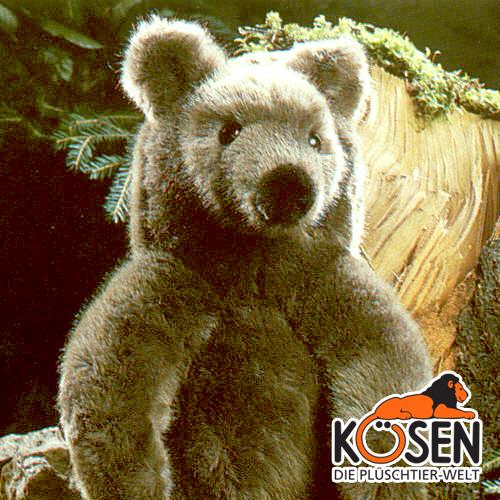 KOESEN ケーセン社 ブラウンベア (小) 3100~ドイツ・KOESEN/KOSEN(ケーセン社)の動物のぬいぐるみ。愛らしい表情の熊(くま/クマ)のぬいぐるみです。出産祝い クリスマス プレゼント 結婚記念日 出産したママへのご褒美にもおすすめ