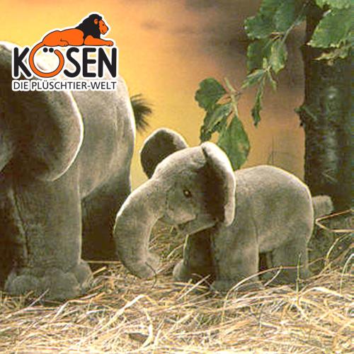 KOESEN ケーセン社 ぞう (ミニ) 1945~ドイツ・KOESEN/KOSEN(ケーセン社)の動物のぬいぐるみ。愛らしい表情のゾウのぬいぐるみです。出産祝い クリスマス プレゼント 結婚記念日 出産したママへのご褒美にもおすすめ