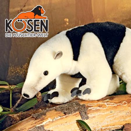 KOESEN ケーセン社 アリクイ 6620~ドイツ・KOESEN/KOSEN(ケーセン社)の動物のぬいぐるみ。愛らしい表情のアリクイのぬいぐるみです。出産祝い クリスマス プレゼント 結婚記念日 出産したママへのご褒美にもおすすめ