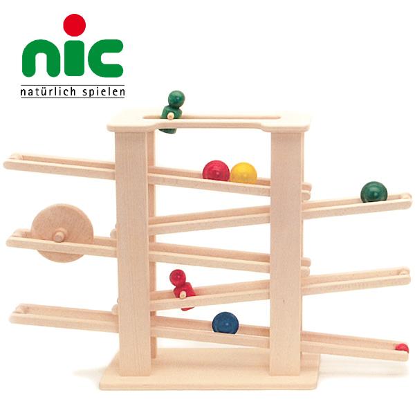 nic ニック社 ニックスロープ~ドイツ・nic(ニック社)のシンプルかつダイナミックな木製スロープトイ「ニックスロープ」です。大迫力のスロープ遊びが楽しめます!